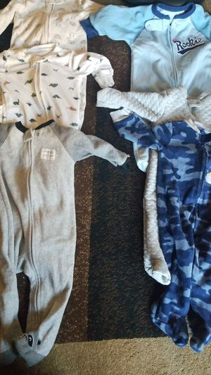 6-9 month winter pjs for Sale in Portland, OR