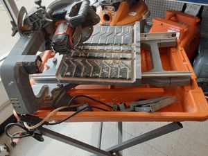 Ridgid Table Saw w/ Bench for Sale in Chicago, IL