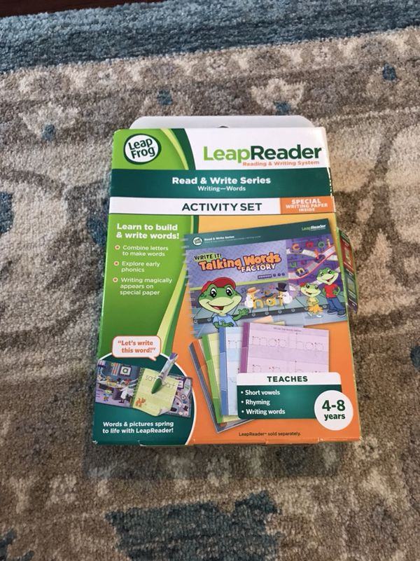 LeapFrog Leap Reader, Read and Write Activity Set