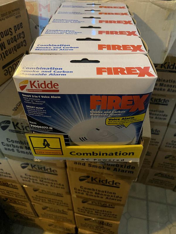 FireX smoke & carbon monoxide alarm detector