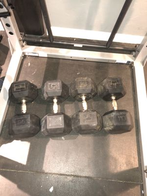 Battles rope and weights for Sale in Medway, MA