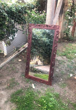 Vintage mirror with wooden frame for Sale in Los Angeles, CA
