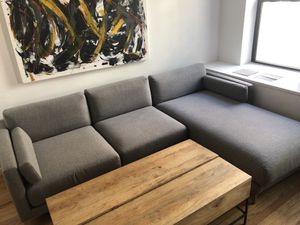 CB2 Sectional Couch - Like New for Sale in New York, NY