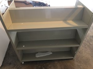 Safco 5357SA Steel Double Sided Book Cart for Sale in Plainfield, IL