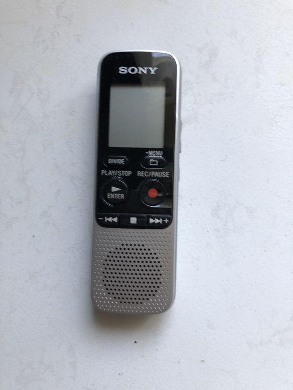 Sony digital recorder