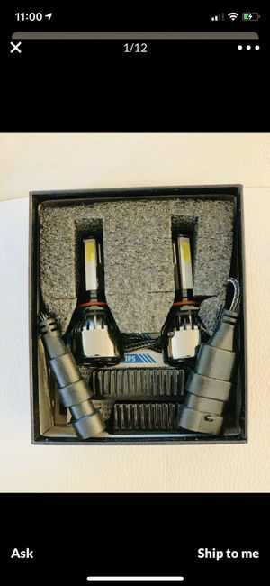 LED Car led headlights kit leds H4 H7 H8 H9 and H11 /H10 /9003 and 9004/9005/HB3 and 9006/HB4 and 9007/9008 H13 All size in stock Pick up w for Sale in Galena, OH
