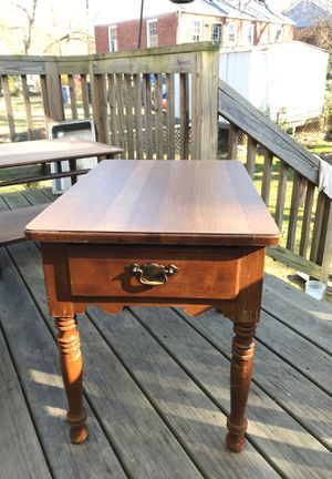 Young Republic Vintage End Table Slightly Restored for Sale in Washington, DC
