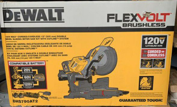 Dewalt Cordless/Corded Miter Saw DCS790AT2