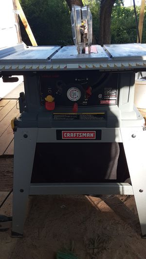 Craftsman table saw for Sale in Matthews, NC