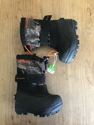 Columbia Snow Boots Kids Size 6 NEW!! for Sale in Phoenix, AZ