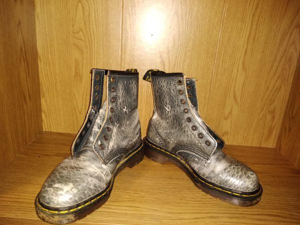 Dr. Martin's Snake skin Pattern Boots Women's size 4