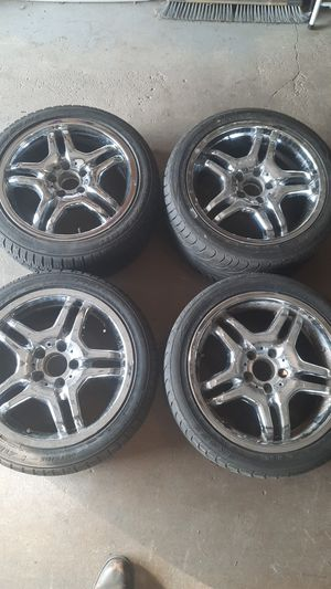 2003 MERCEDES AMG Wheels set of 4 for Sale in Plainfield, IL