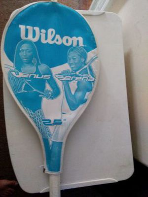 Wilson tennis racket (Selena and Venus) for Sale in Braintree, MA