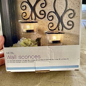 Metal Wall Sconce Set of 2 for Sale in Covina, CA
