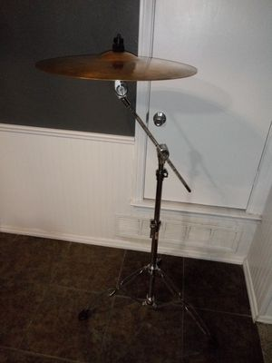 """VINTAGE SABIAN 80S (RIDE 20"""") 2993,71 Grams AND CYMBALS BOOM STAND (TAMA 80S) for Sale in Fort Worth, TX"""