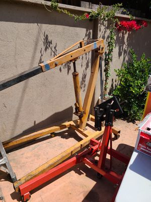 Engine hoist and stand for Sale in San Luis Obispo, CA