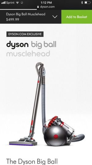 Dyson big ball musclehead vacuum for Sale in Henderson, NV