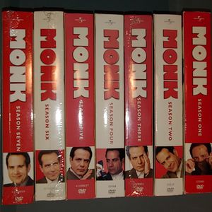 Monk Series Seasons 1-7 DVD Sets for Sale in St. Louis, MO