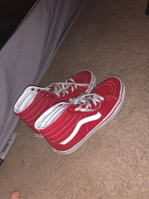 Red High Top Vans for Sale in Yakima, WA