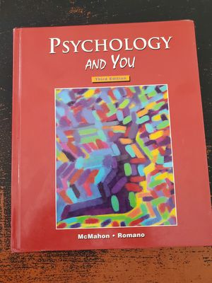 Psychology and You Third Edition for Sale in Chino, CA