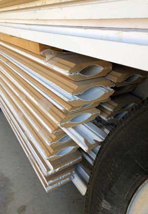 MDF trim Lots of crown baseboards and top doors crown for Sale in Lockport, IL