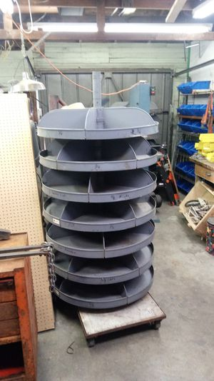 Spinning tack room organization bin for Sale in Enumclaw, WA