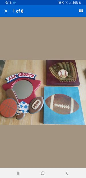 Boys room decorations for Sale in Fall River, MA