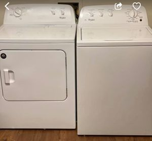 Washer and dryer set for Sale in Moultrie, GA