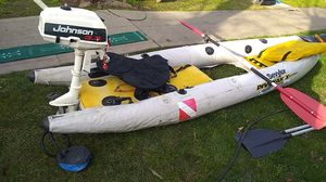dive yak with motor for Sale in Stockton, CA