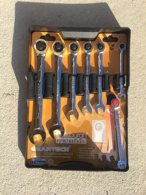 Brand new geartech wrenches 5 degree space for each turn for Sale in Orlando, FL