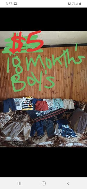 Boys 18 months clothing lot good condition for Sale in Saint Thomas, PA