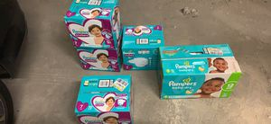 Pampers cruisers and swaddlers for Sale in Baltimore, MD