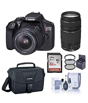Canon rebel t6 set for Sale in Romoland, CA
