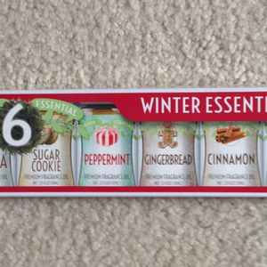 Essential Oil Set of 6 Winter Fragrances for Sale in Snohomish, WA