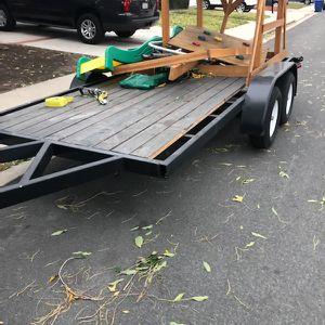 Double Axle Trailer 14x6 for Sale in Chula Vista, CA
