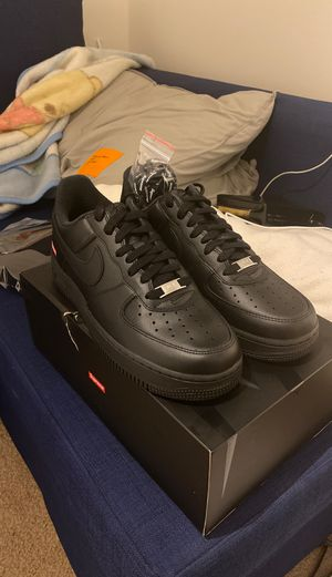 Supreme Air Force 1 Black Size 8 for Sale in Battle Ground, WA