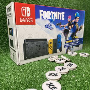 (Never Opened) Nintendo Switch Fortnite Edition for Sale in Jersey City, NJ