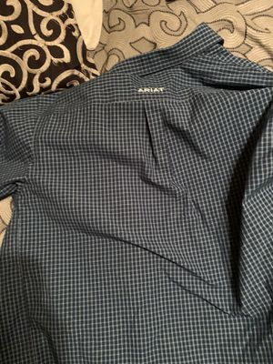 Ariat buttoned shirt for Sale in Longview, TX