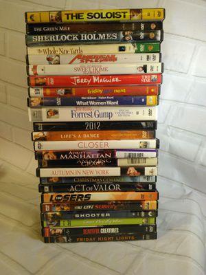Classic DVD movie lot 23+ wholesale binge watch for Sale in Arlington, MA