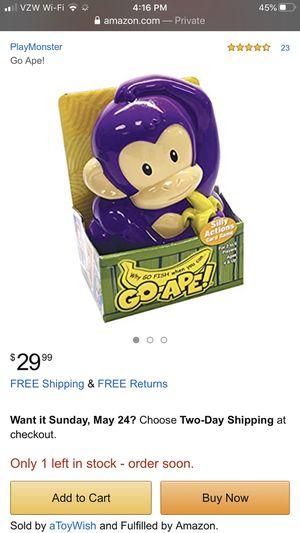 Go ape children's card game for Sale in Battle Ground, WA