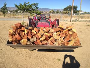 Firewood by the tractor bucket for Sale in Phelan, CA