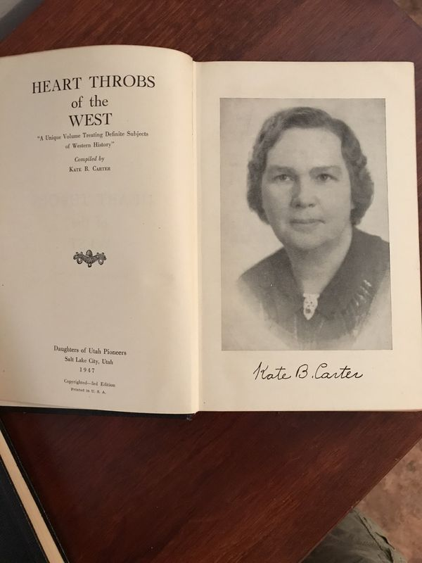 Heart Throbs of the West Volume 1