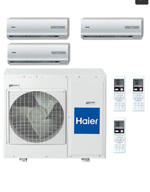 Used, HAIER TRI- AND DUAL ZONE MULTI SPLIT 24,000 BTU for Sale for sale  New York, NY