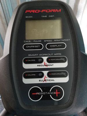 ProForm Hybrid Trainer Elliptical Machine, Gray for Sale in Richmond, VA