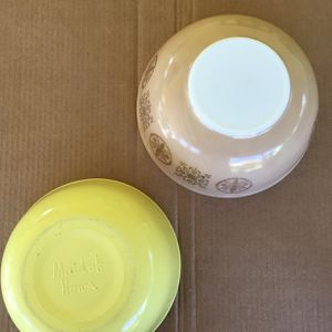 Vintage Large Mixing Bowls * PYREX $25 / MAID OF HONOR* $15 for Sale in West Covina, CA
