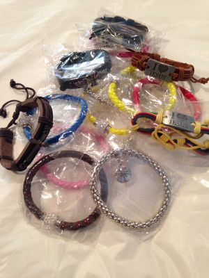 ASSORTED LEATHER BRACELETS for Sale in Crewe, VA