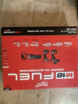 New Milwaukee Fuel 3 piece tool set for Sale in Lorain, OH