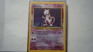 Holo Mewtwo Pokemon Card Base Set 10/102 Rare Near Mint Original WOTC for Sale in Euclid, OH