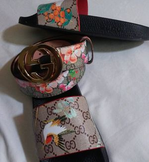 Women's GUCCI FLORAL SLIDES!!!!!!! for Sale in Stone Mountain, GA