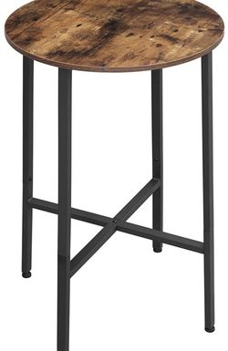 Bar Table, Dining Table, Hight Pub Table, Computer Desk, Steel Frame, Easy Assembly, for Living Room or Kitchen, Industrial, 23.6 x 23.6 x 35.4 Inches for Sale in Rancho Cucamonga,  CA